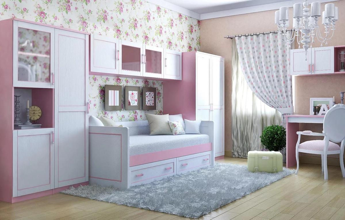 детский гарнитур в комнату девочки
