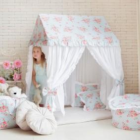 детский игровой домик идеи фото
