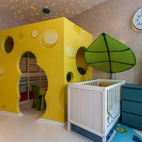 детский игровой домик декор