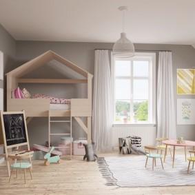 детский игровой домик декор фото