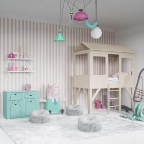 детский игровой домик фото декор