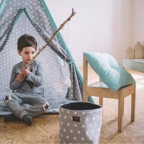 детский игровой домик фото декора