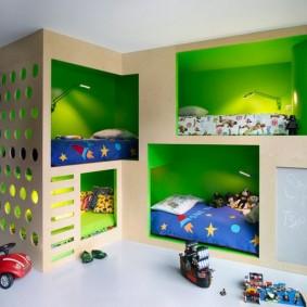 детский игровой домик идеи декора