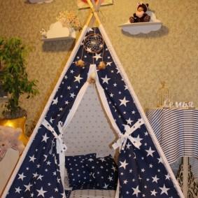 детский игровой домик фото интерьер