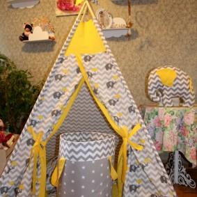 детский игровой домик фото интерьера