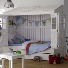 детский игровой домик оформление