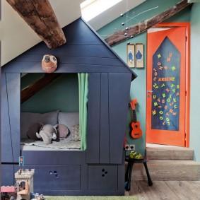 детский игровой домик фото оформление