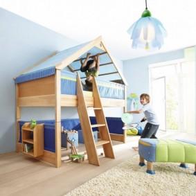 детский игровой домик фото оформления