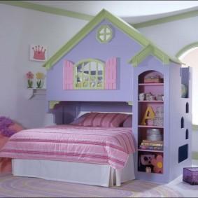 детский игровой домик идеи оформление