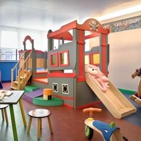 детский игровой домик идеи