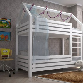 детский игровой домик идеи оформления