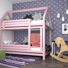 детский игровой домик варианты фото