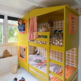 детский игровой домик фото вариантов