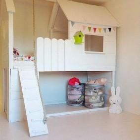 детский игровой домик варианты идеи