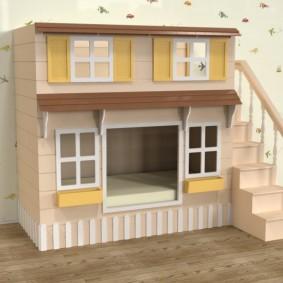 детский игровой домик идеи варианты