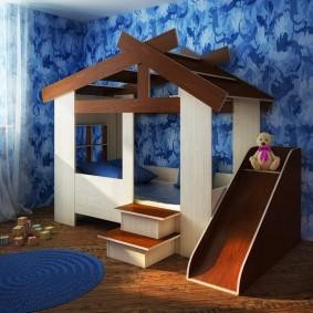 детский игровой домик виды