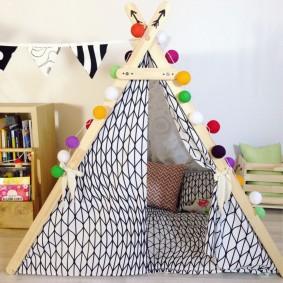 детский игровой домик фото видов