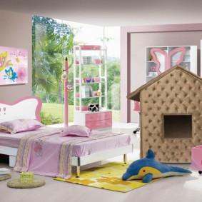 детский игровой домик обзор