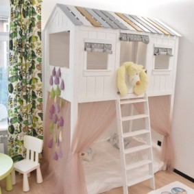 детский игровой домик дизайн идеи