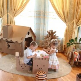 детский игровой домик идеи дизайн