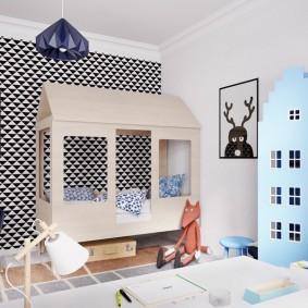 детский игровой домик идеи дизайна
