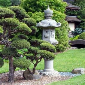 Декор сада в восточном стиле