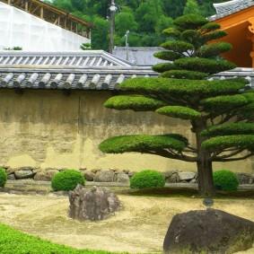 Ландшафтный дизайн садового участка в японском стиле