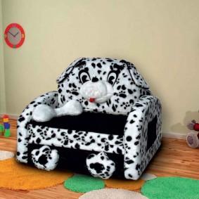 Диван-кресло для детской комнаты