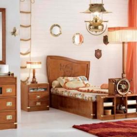 Деревянная мебель модульного типа