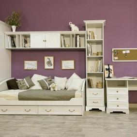 Комплект модульной мебели для ребенка школьника