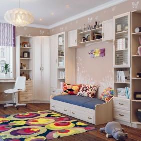 Дизайн комнаты мальчика с модульной мебелью