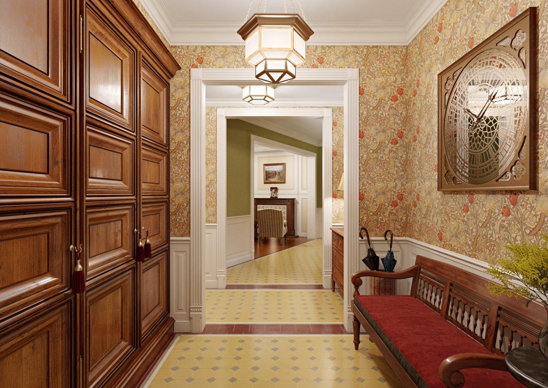 Картинки комнат коридор