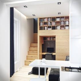 Встроенная мебель из березовой фанеры