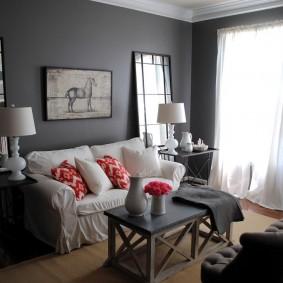 Уютная комната в панельном доме