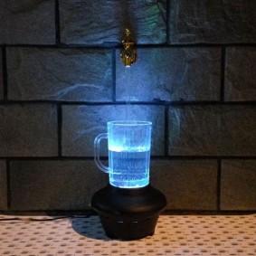 Оригинальная модель фонтана для стильного интерьера