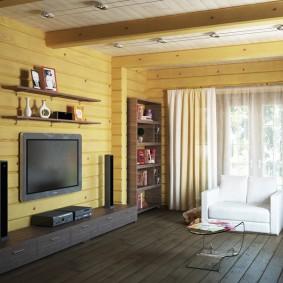 Современная мебель в сельском доме
