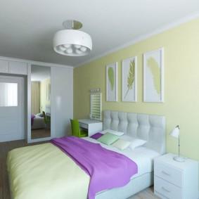 Комфортная спальня для молодых супругов
