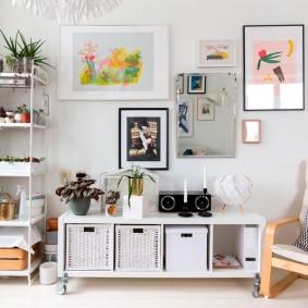 Простая мебель в скандинавском стиле