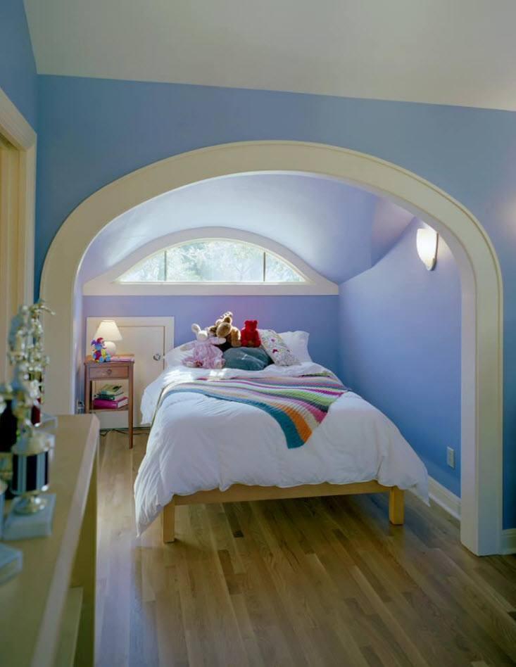 главные арки в комнате из гипсокартона фото следующий