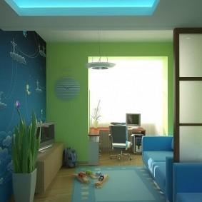 Дизайн комнаты для маленького мальчика