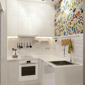 Кухонный гарнитур угловой формы