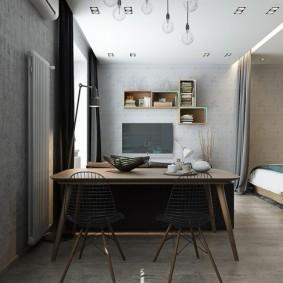 Кухонные стулья со спинками из проволоки
