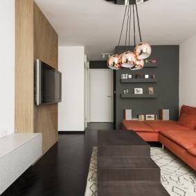 Стильная квартира небольшой площади