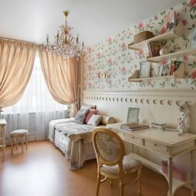 Классическая мебель для девочки подростка