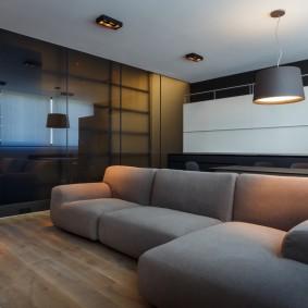 Удобный диван угловой конфигурации