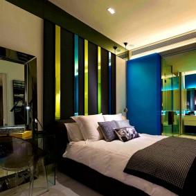 Стильная спальная комната для мужчины