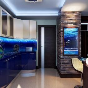 Интерьер квартиры в морской тематике