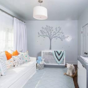 Светлая комната для любимого ребенка