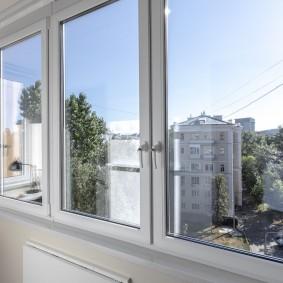 Пластиковые окна с двойным стеклопакетом