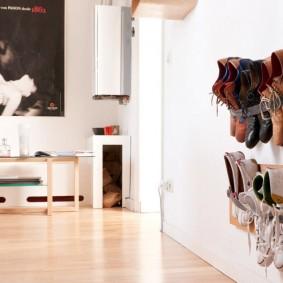 Полка-органайзер для летней обуви